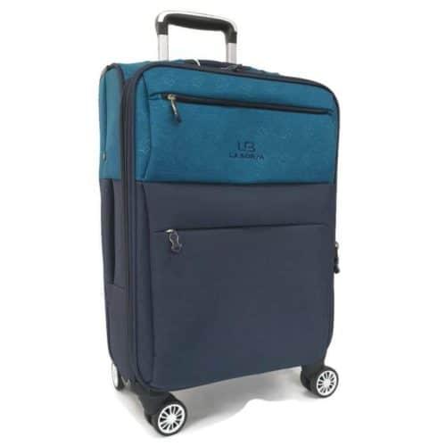 מזוודה מבד 24″ green LB1001