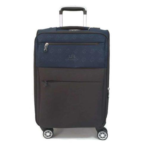 מזוודה רכה 20″ blue LB1001