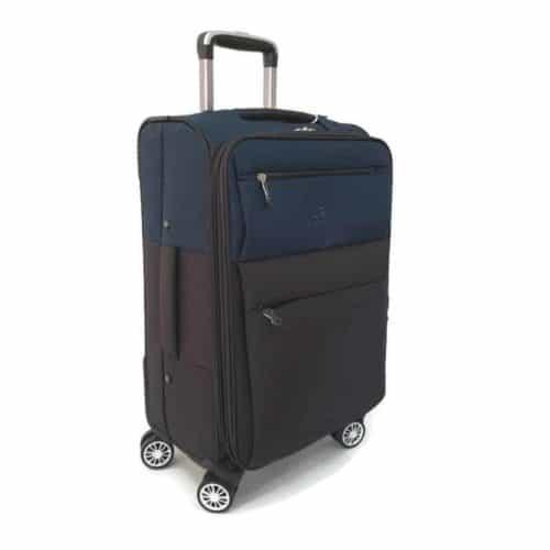 מזוודה רכה 24″ blue LB1001