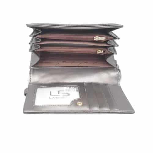 ארנק עור LB3001 silver