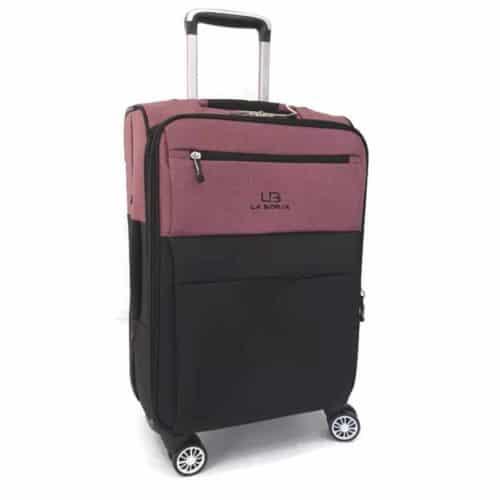מזוודה רכה 24″ red LB1001