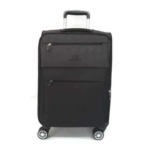 מזוודה רכה 24″ gray LB1001