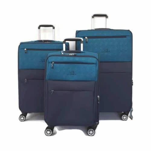 סט מזוודות LB1001 green