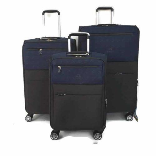 סט מזוודות LB1001 blue