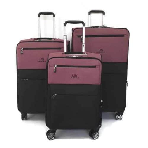 סט מזוודות LB1001 purple