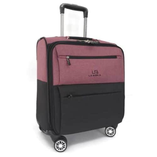"""מזוודת עסקים טרולי LB5001 purple """"16"""