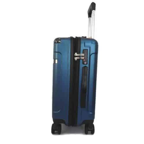 """מזוודה קשיחה """"24 LB1052 blue"""