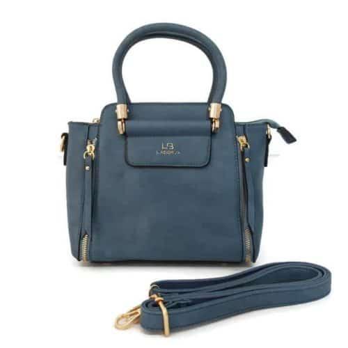 תיק אופנה קומפקטי LB8061 blue