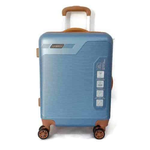 """מזוודה קשיחה """"LB1051 blue 28"""