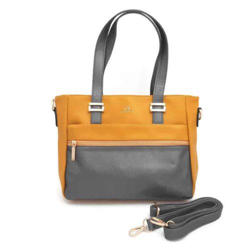 תיק אופנה LB9057 yellow קומפקטי