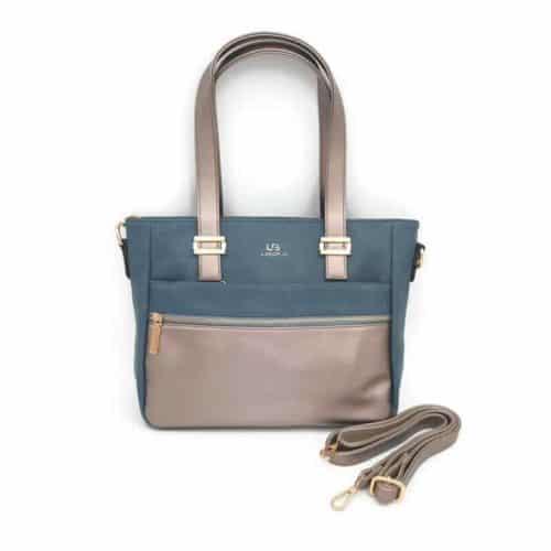 תיק אופנה LB9057 blue קומפקטי