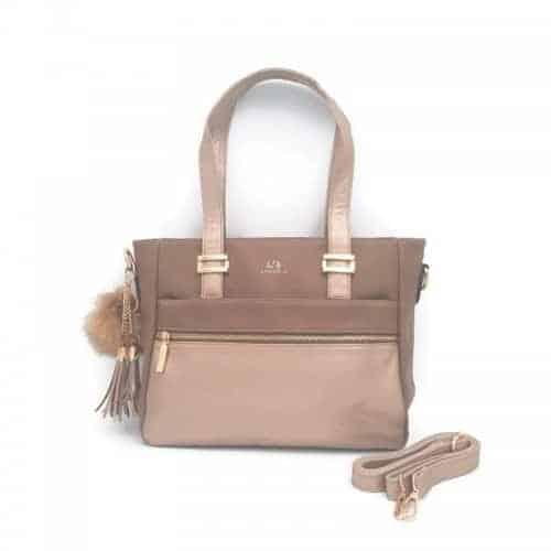 תיק אופנה LB9057 brown קומפקטי