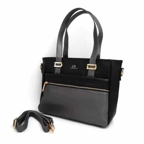 תיק אופנה LB9057 black קומפקטי