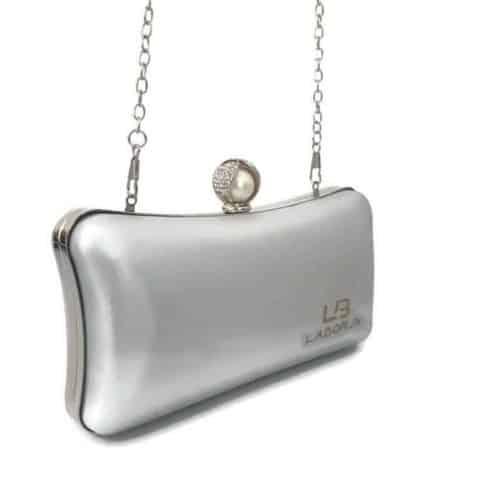 תיק ערב LB4050 silver