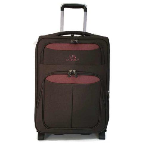 """מזוודה רכה LB1002 grey """"24"""