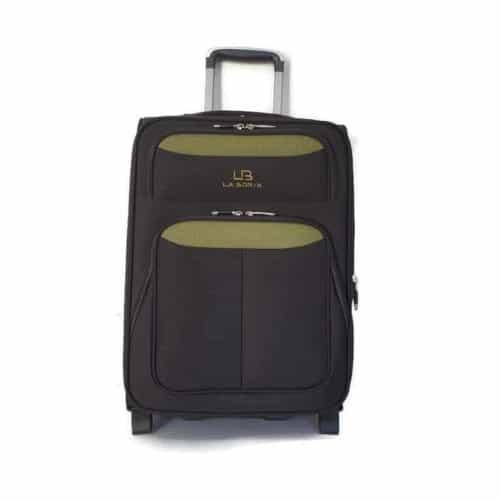 """מזוודה רכה LB1002 green """"24"""