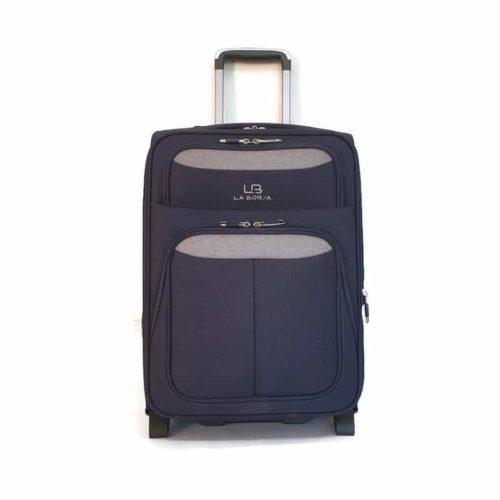 """מזוודה רכה LB1002 blue """"20"""