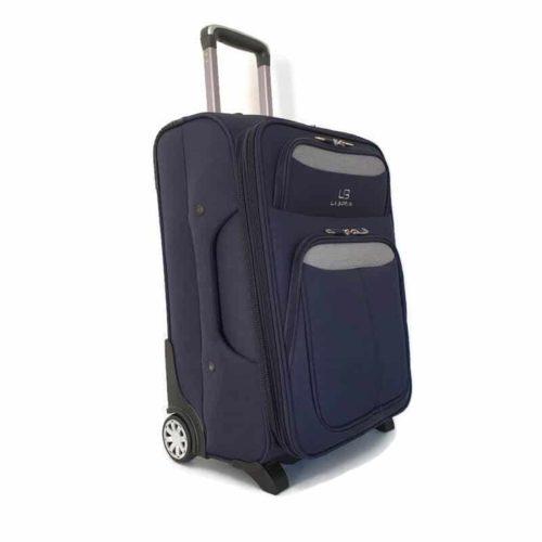 """מזוודה רכה LB1002 blue """"32"""