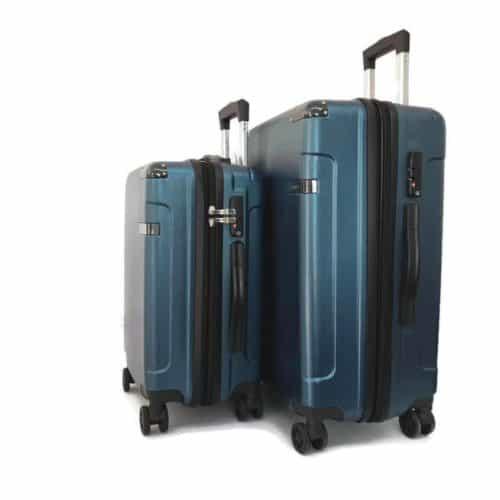 סט מזוודות קשיחות LB1052 blue