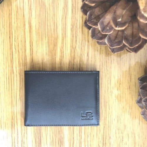 ארנק עור מגנט לגבר אפור LB89441